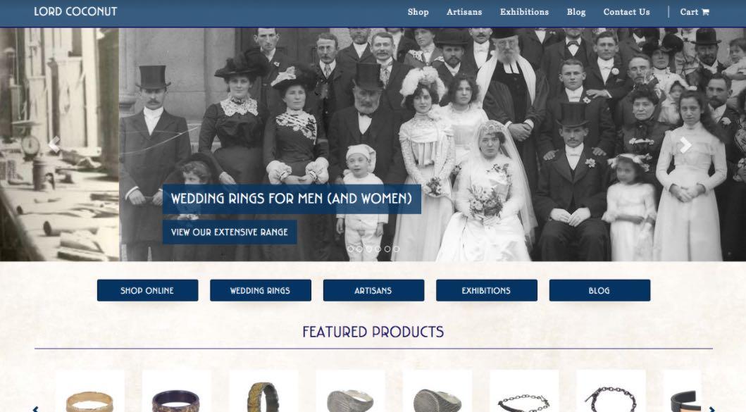 Lord Coconut Wedding Jewellery Shop Melbourne