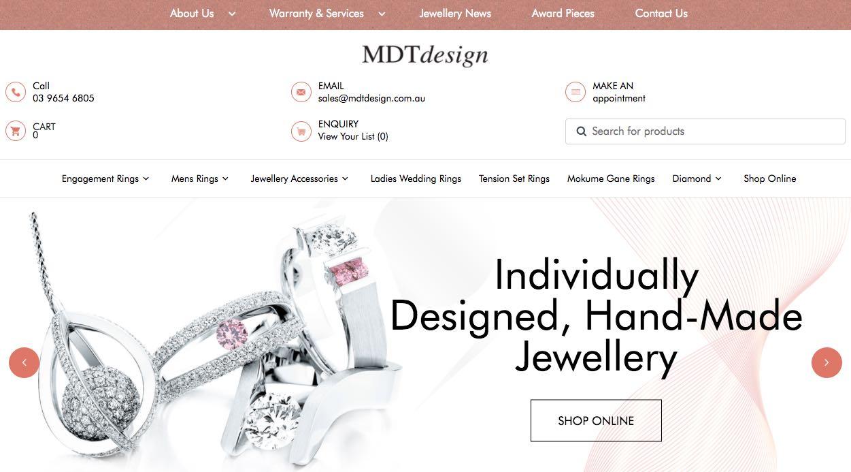 Mdt Wedding Jewellery Shop Melbourne