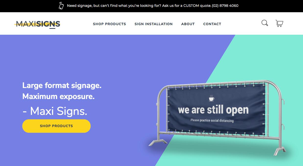 Maxi Signs