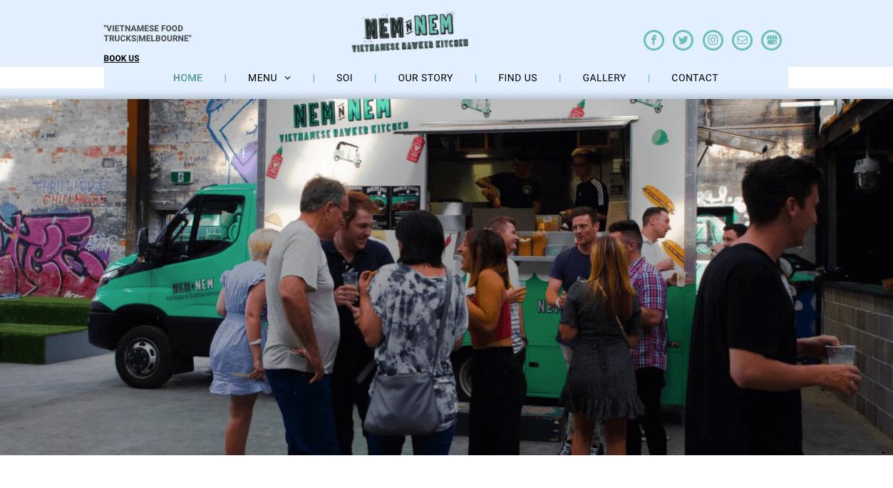 Nem N Nem Vietnamese Food Melbourne
