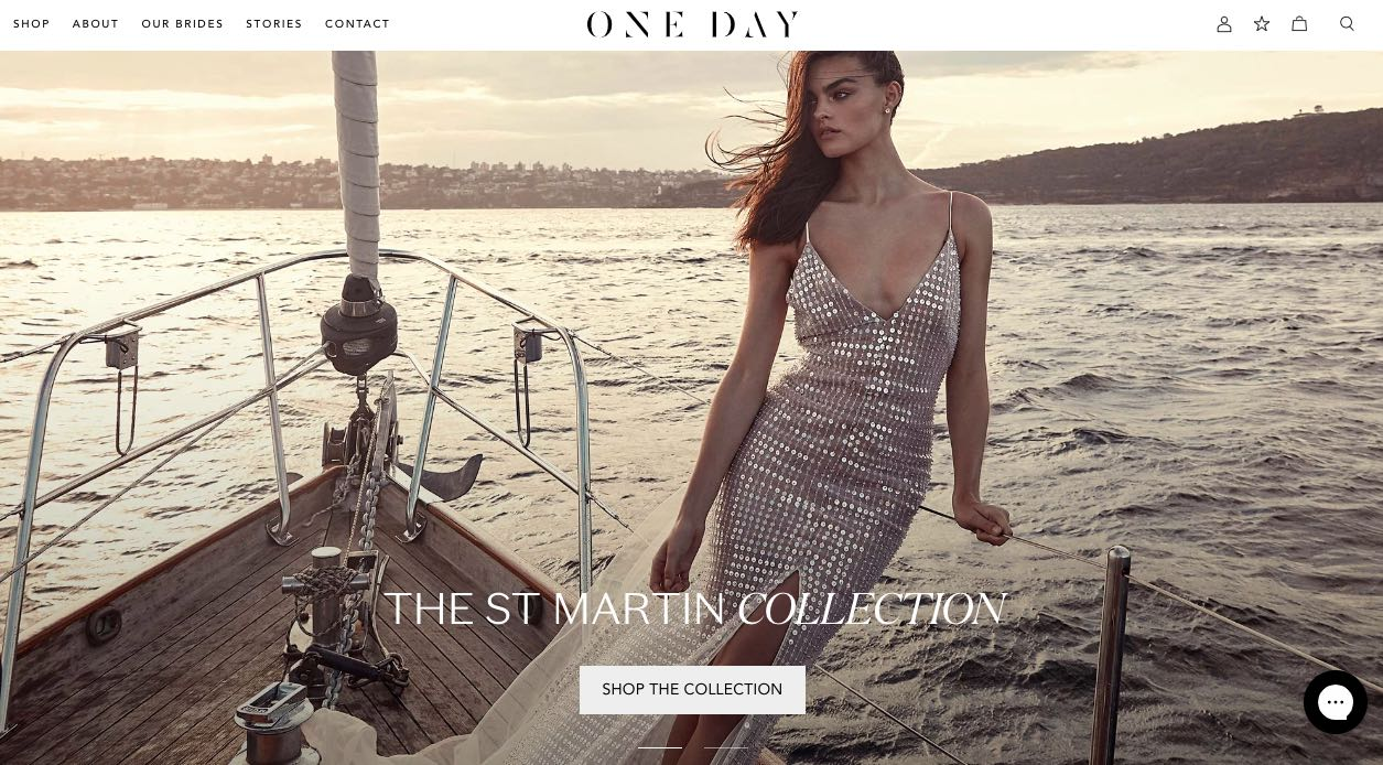 One Day Bridal Wedding Dress Designer Shop Melbuorne