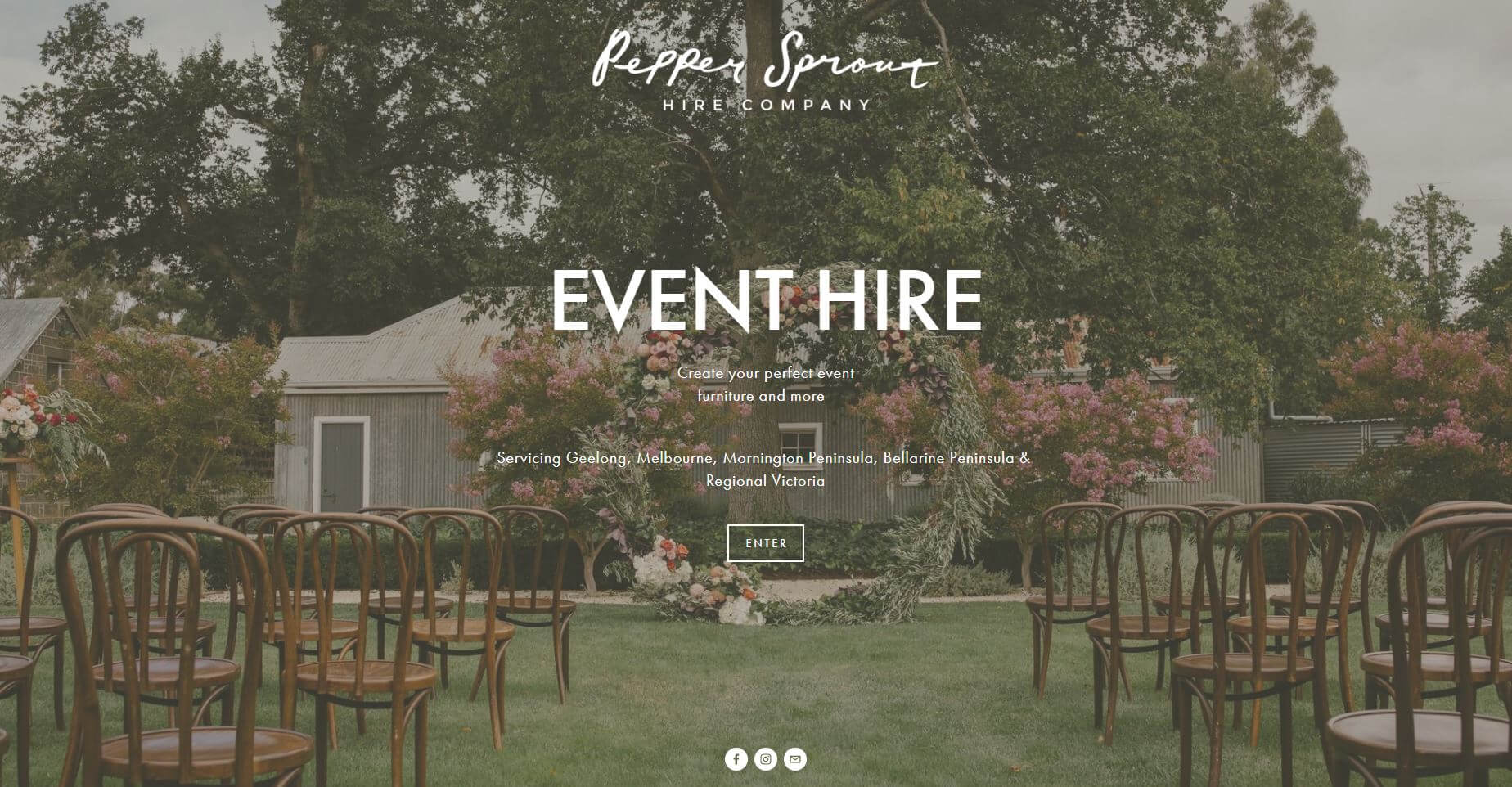 Pepper Sprout Wedding Hire Melbourne