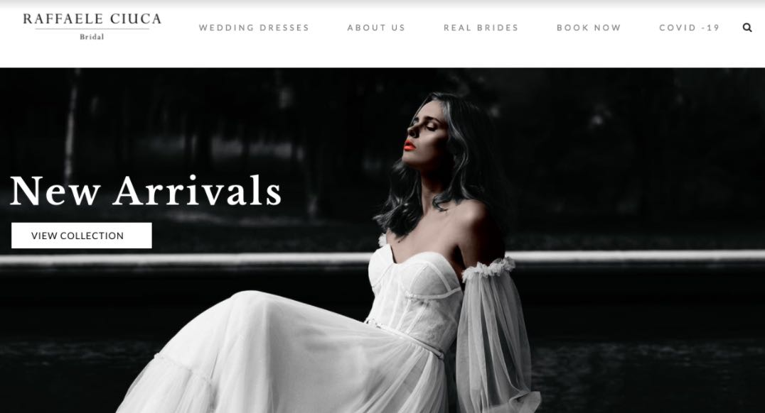 Raffaele Ciu Wedding Designer Dress Shop Melbourne