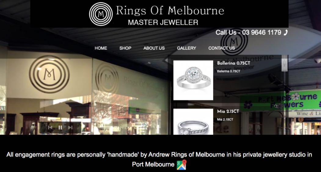 Rings Of Melbourne Wedding Jewellery Shop Melbourne