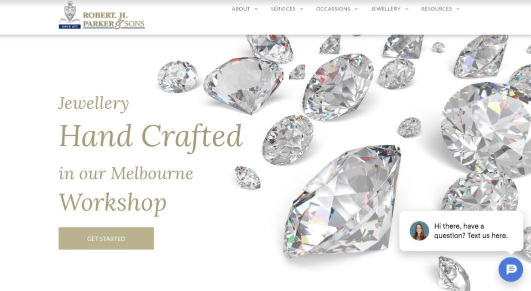 Robert Parker Wedding Jewellery Shop Melbourne