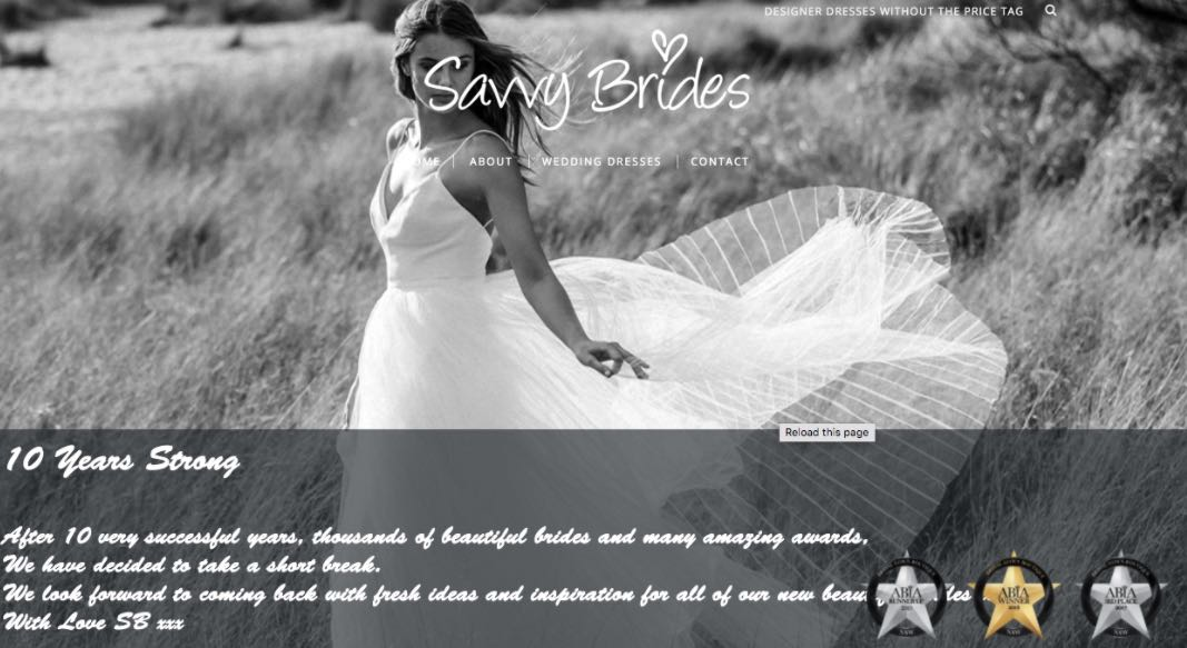 Savvy Brides Preloved Wedding Dress Shop Melbourne