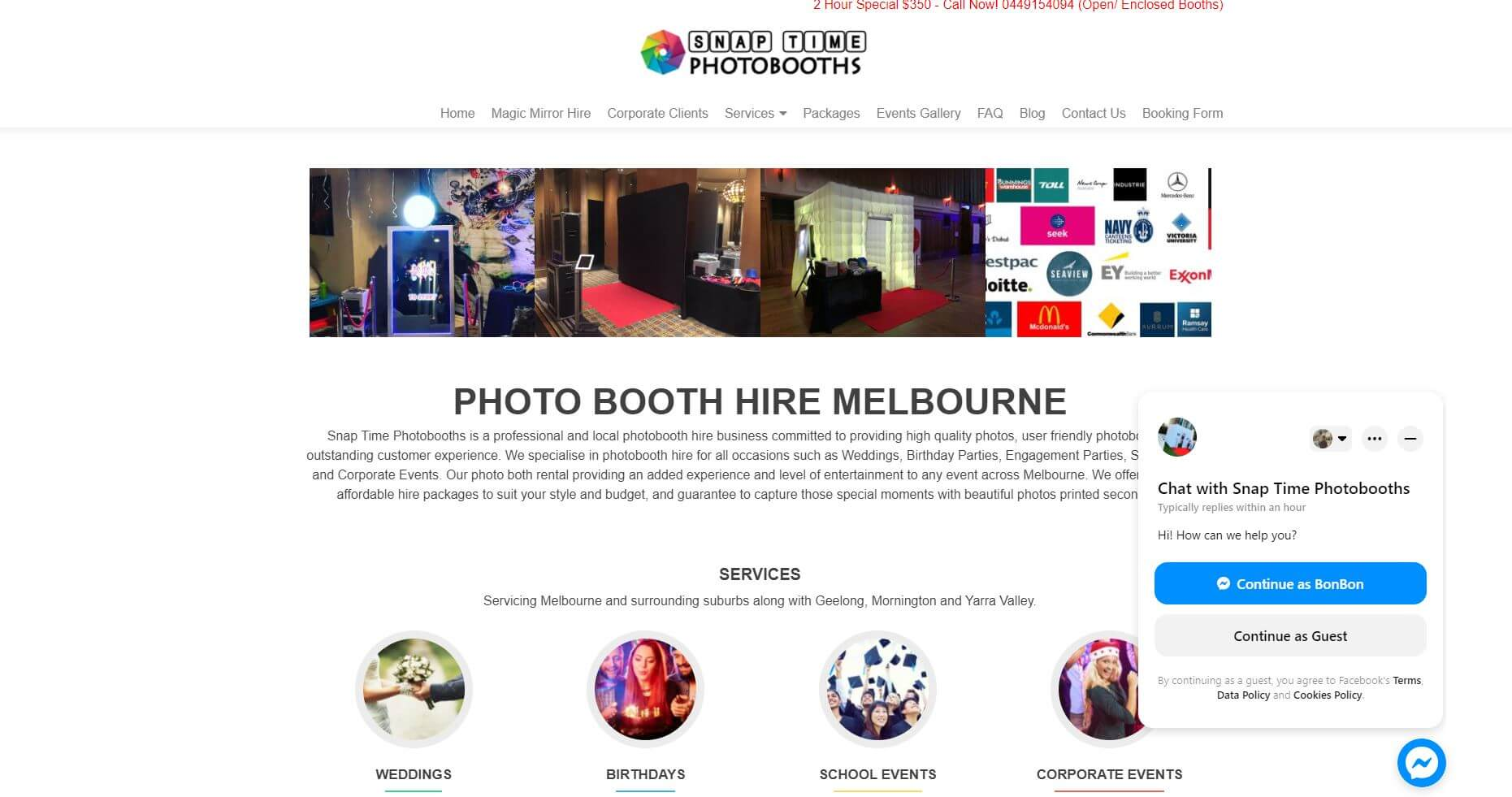 Snap Time Photobooths Wedding Hire Melbourne