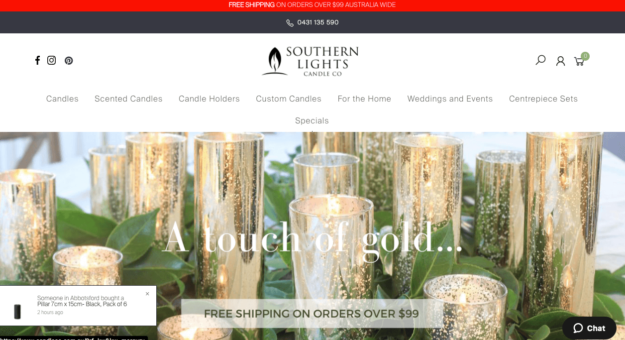 Southern Lights Candle Co.