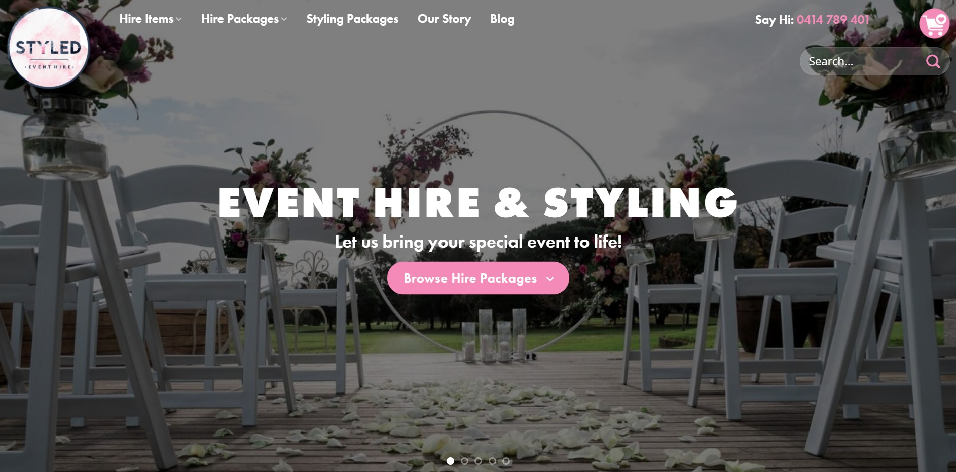 Styled Event Hire