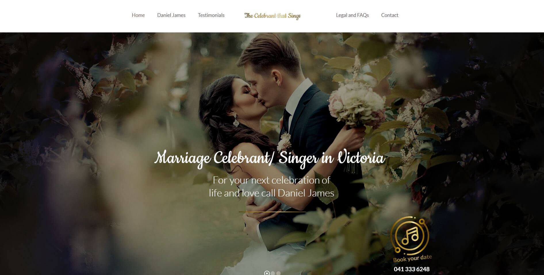 The Celebrant That Sings Melbourne Hire Weddingv