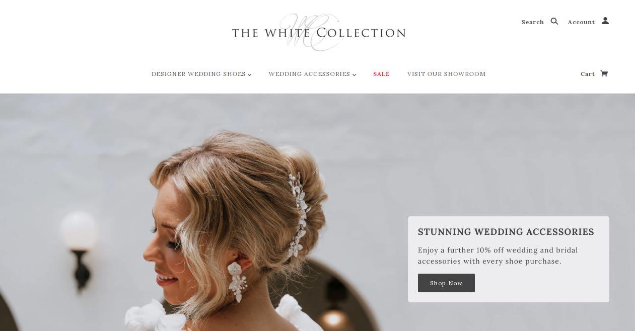 The White Collection Wedding Shoe Shop Melbourne