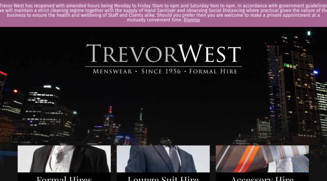 Trevor West Flower Girl Dress Shop Melbourne