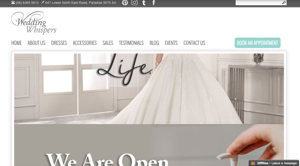 Wedding Whisper Preloved Wedding Dress Shop Melbourne