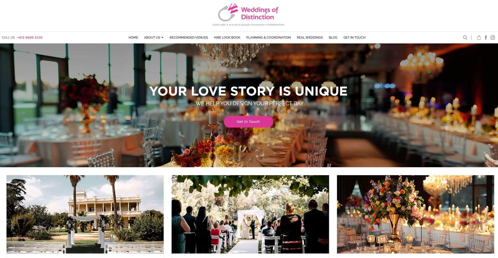 Weddings Of Distinction Hire Melbourne