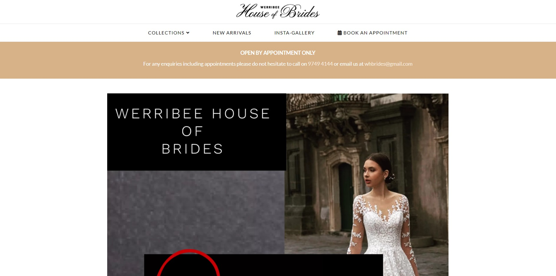 Werribee House Of Brides