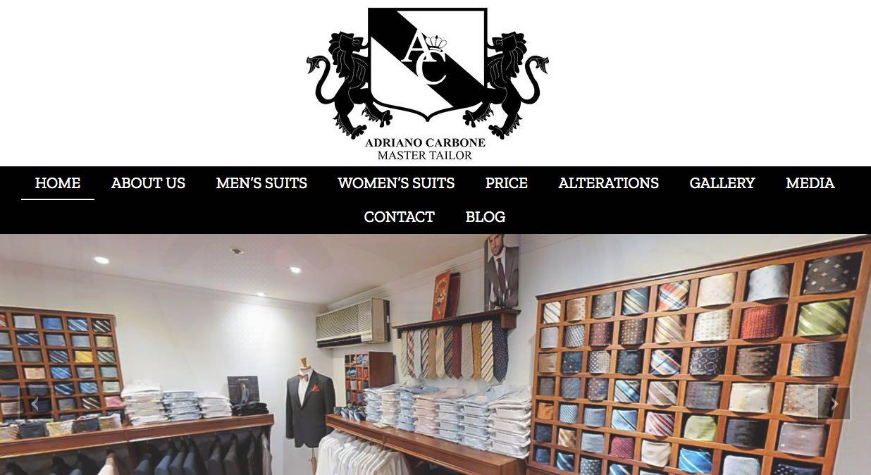Adriano Carbone Suit Tailor Melbourne