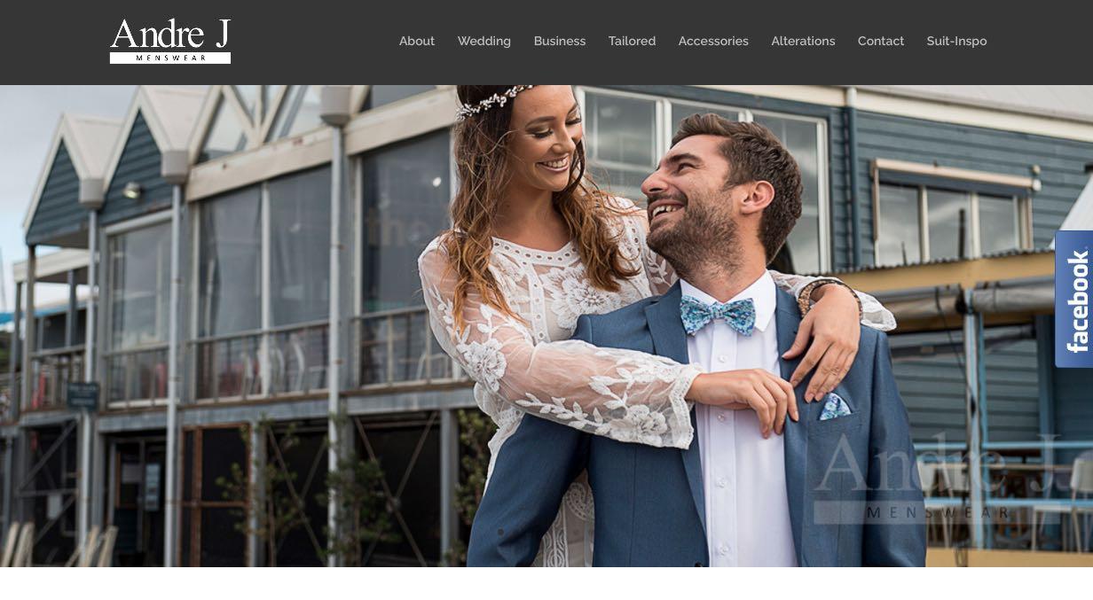 Andre J Menswear Suit Tailors Melbourne