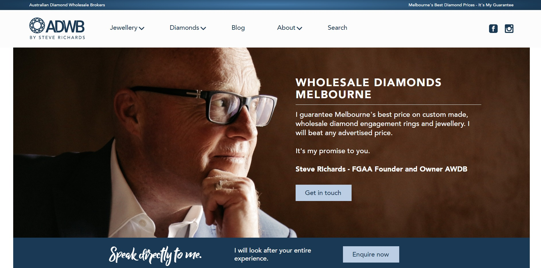 Australian Diamond Wholesale Brokers By Steve Richards