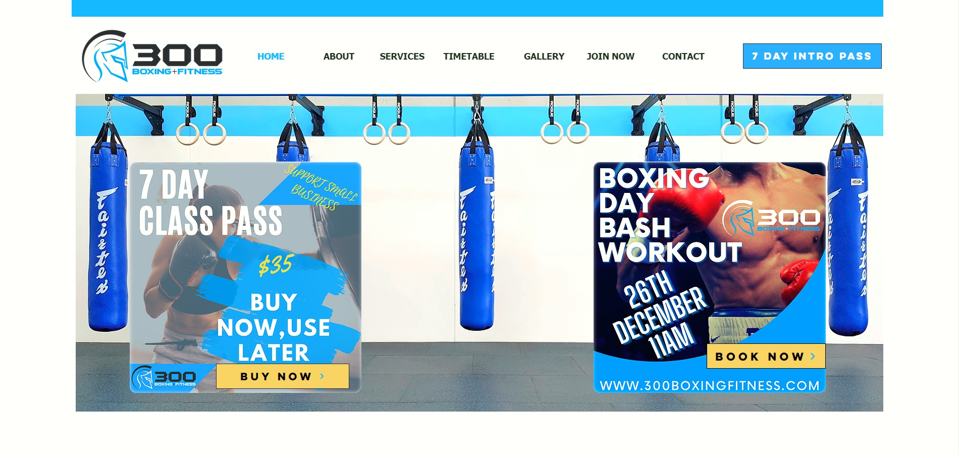 Boxing Fitness Classes Personal Training