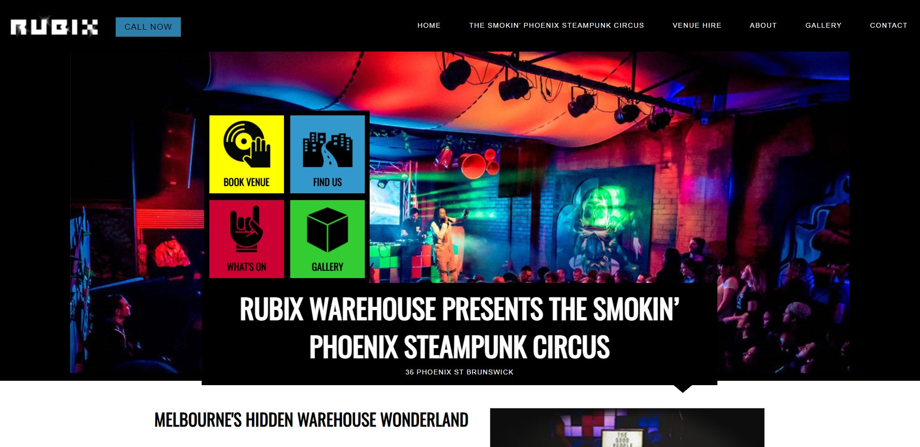 Rubix Warehouse