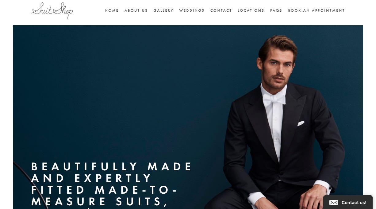Suit Shop Tailors Melbourne