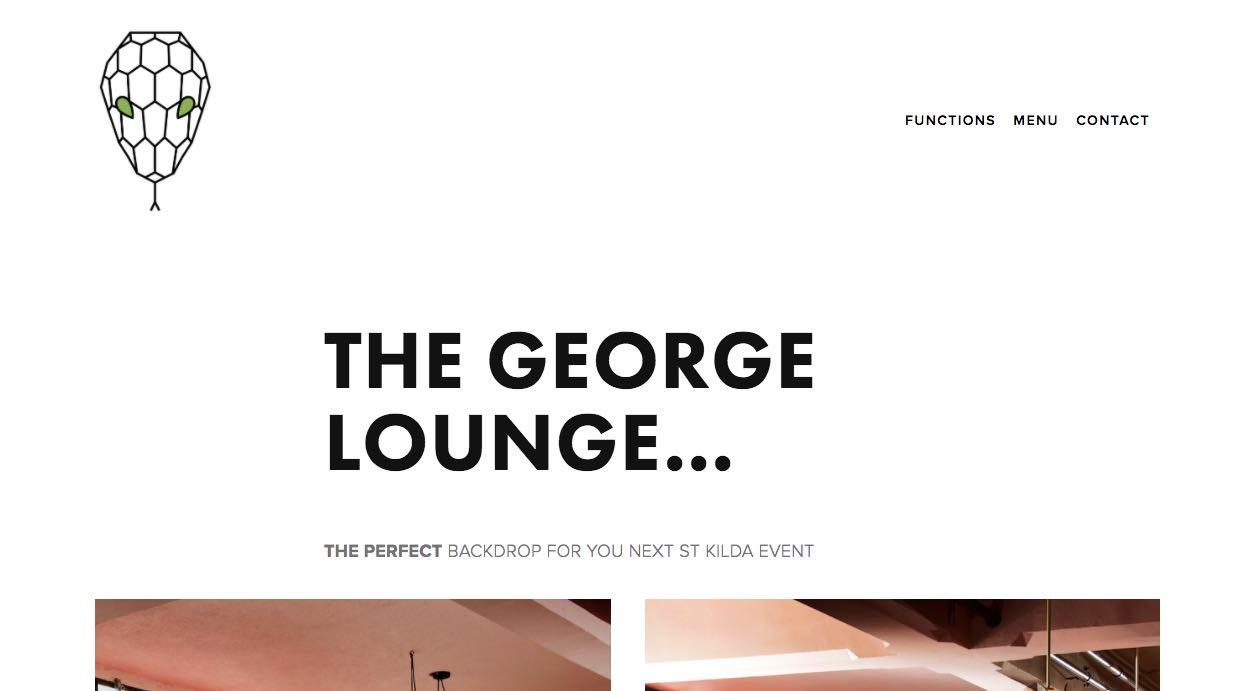 The George Lounge Engagement Party Venue Melbourne