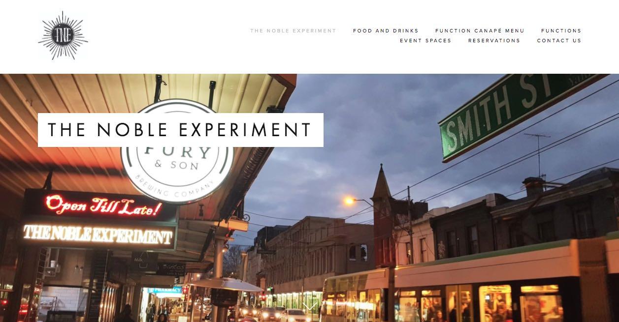 The Noble Experiment Engagement Party Venue Melbourne