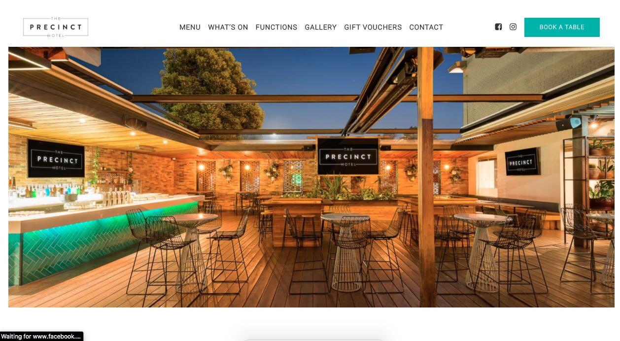 The Precint Hotel Engagement Party Venue Melbourne