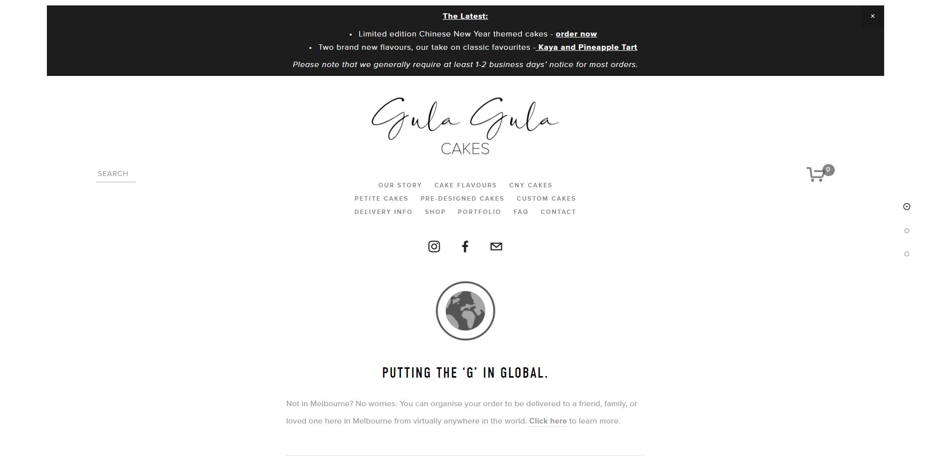 Gula Gula Cakes