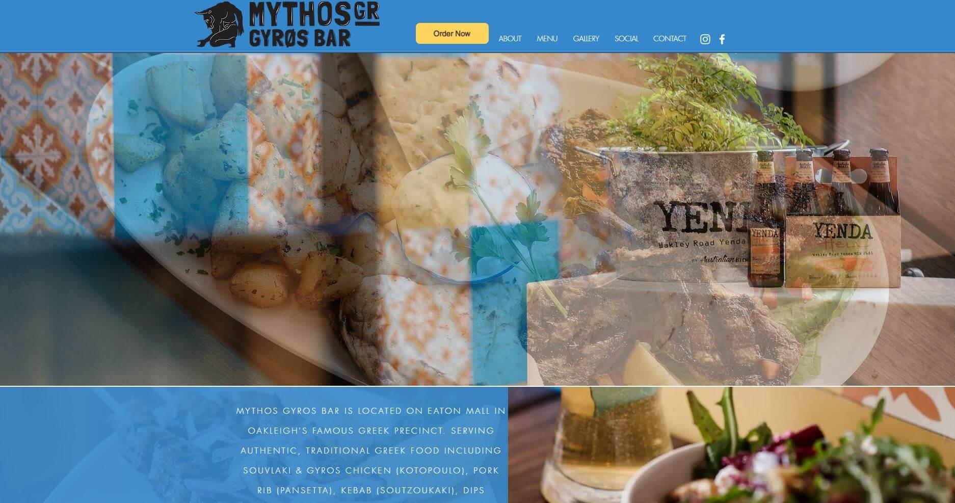 Myths Gyros Bar