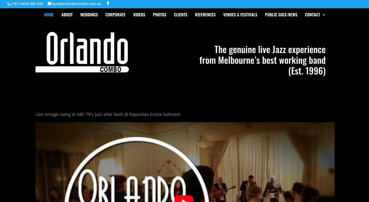 Orlando Combo Wedding Band Melbourne
