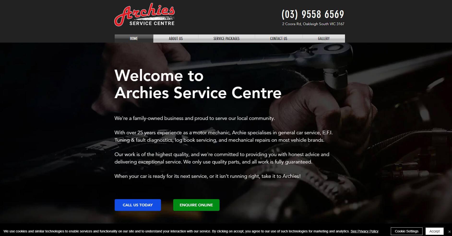 Archies Service Centre
