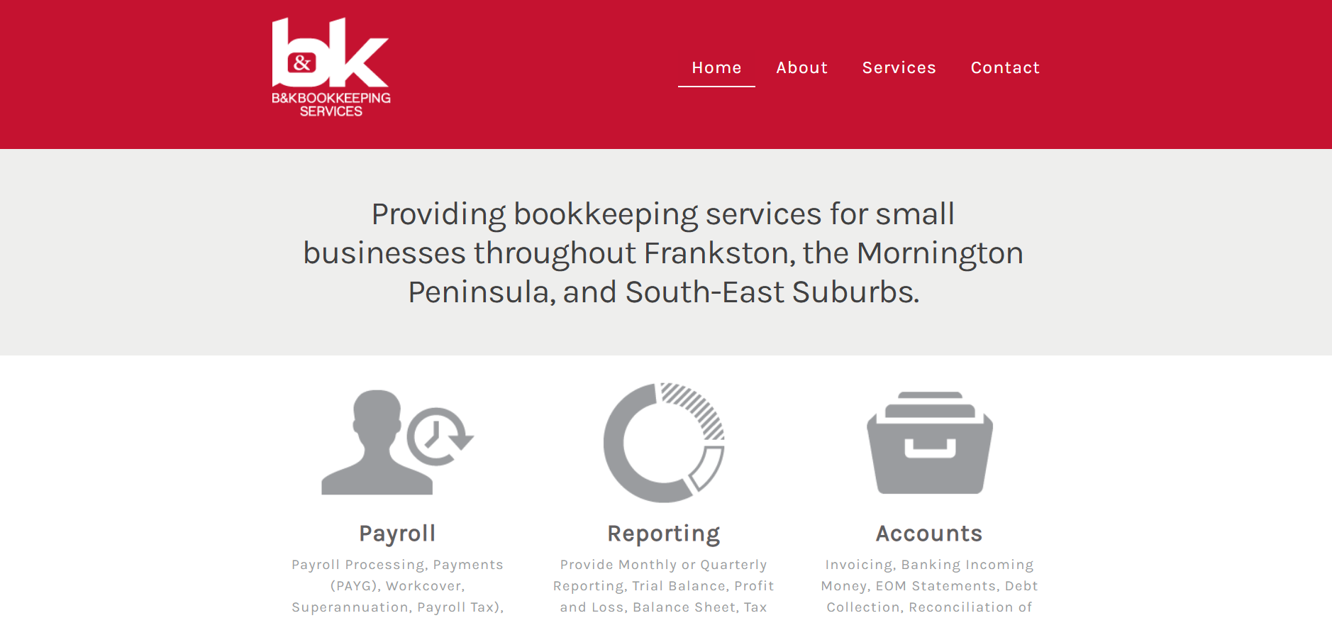 B & K Bookkeeping Services
