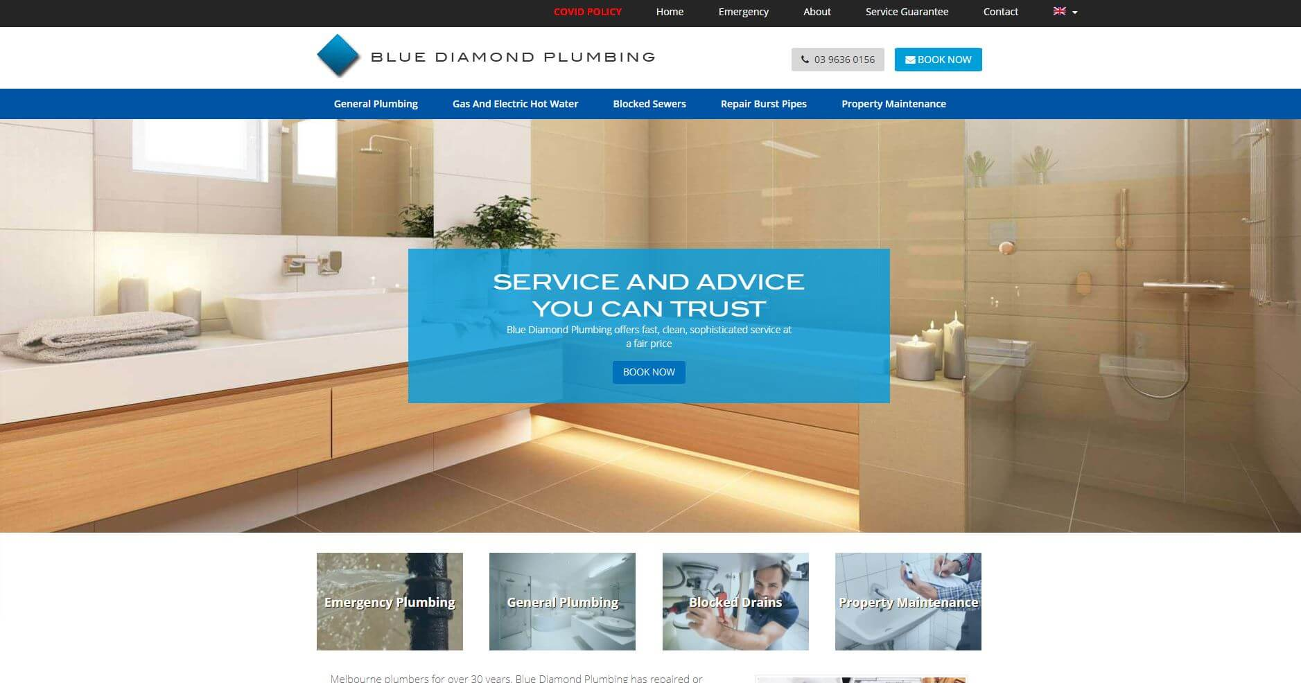 Blue Diamond Plumbing