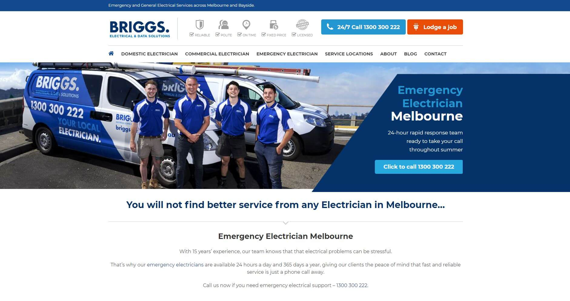 Briggs Electrical & Data Solutions