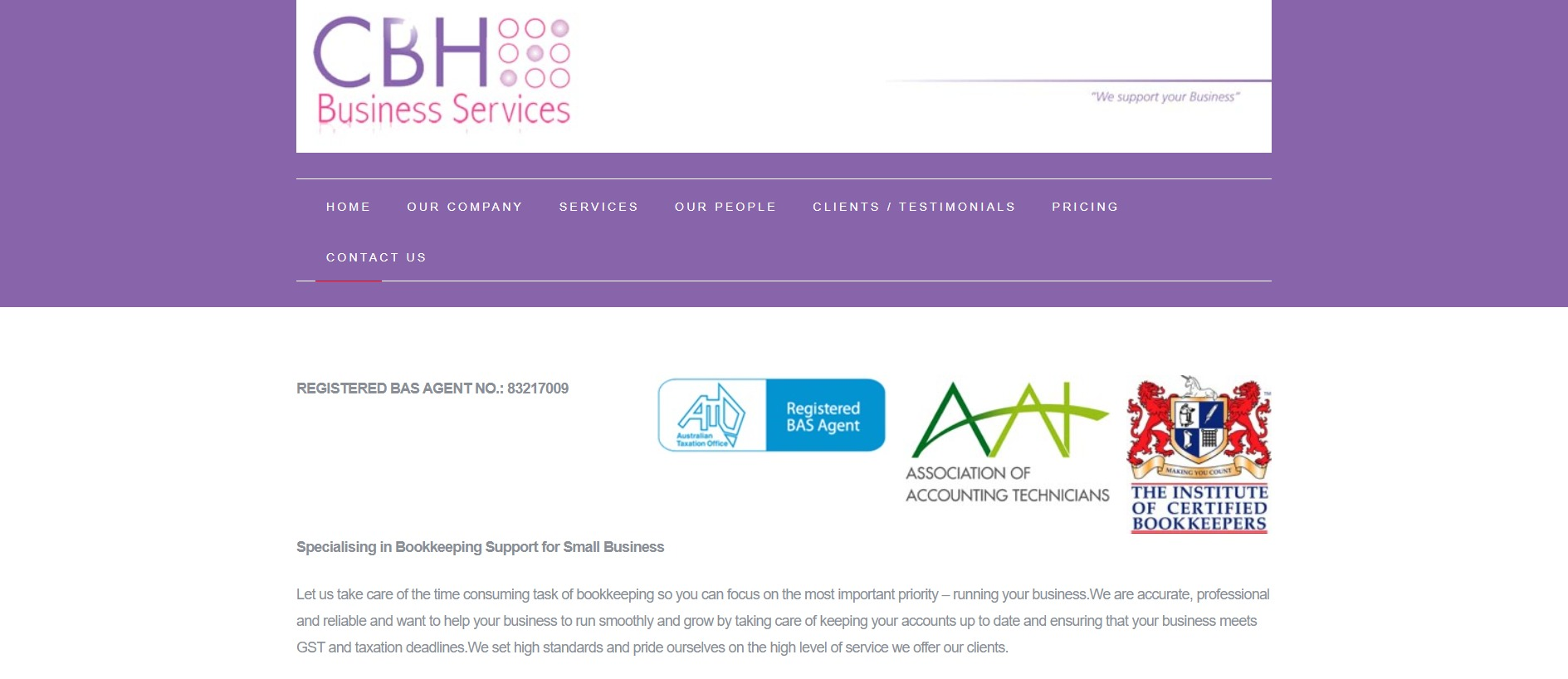 Cbh Business Services
