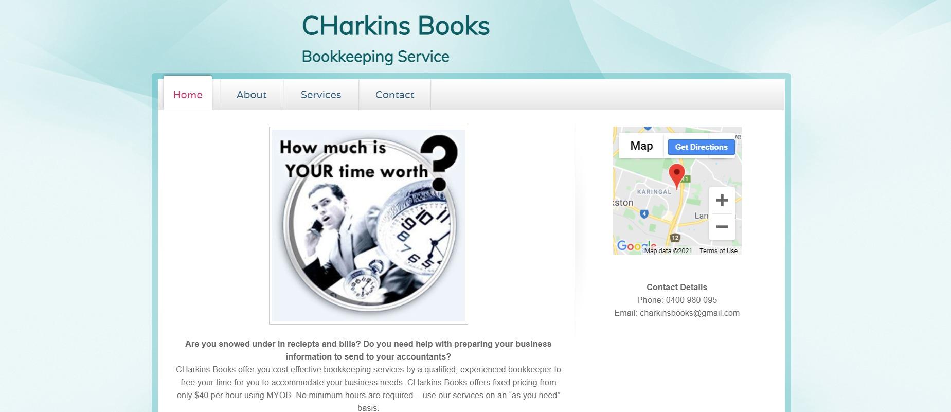 Charkins Books