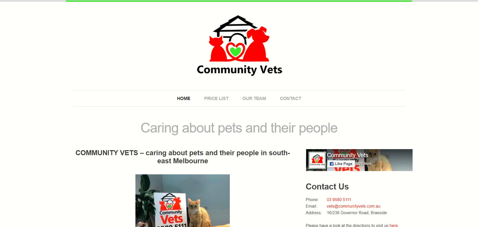 Community Vets