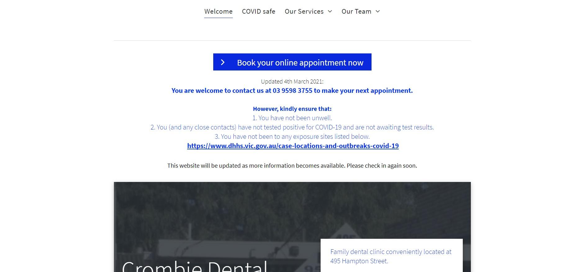 Crombie Dental Surgery