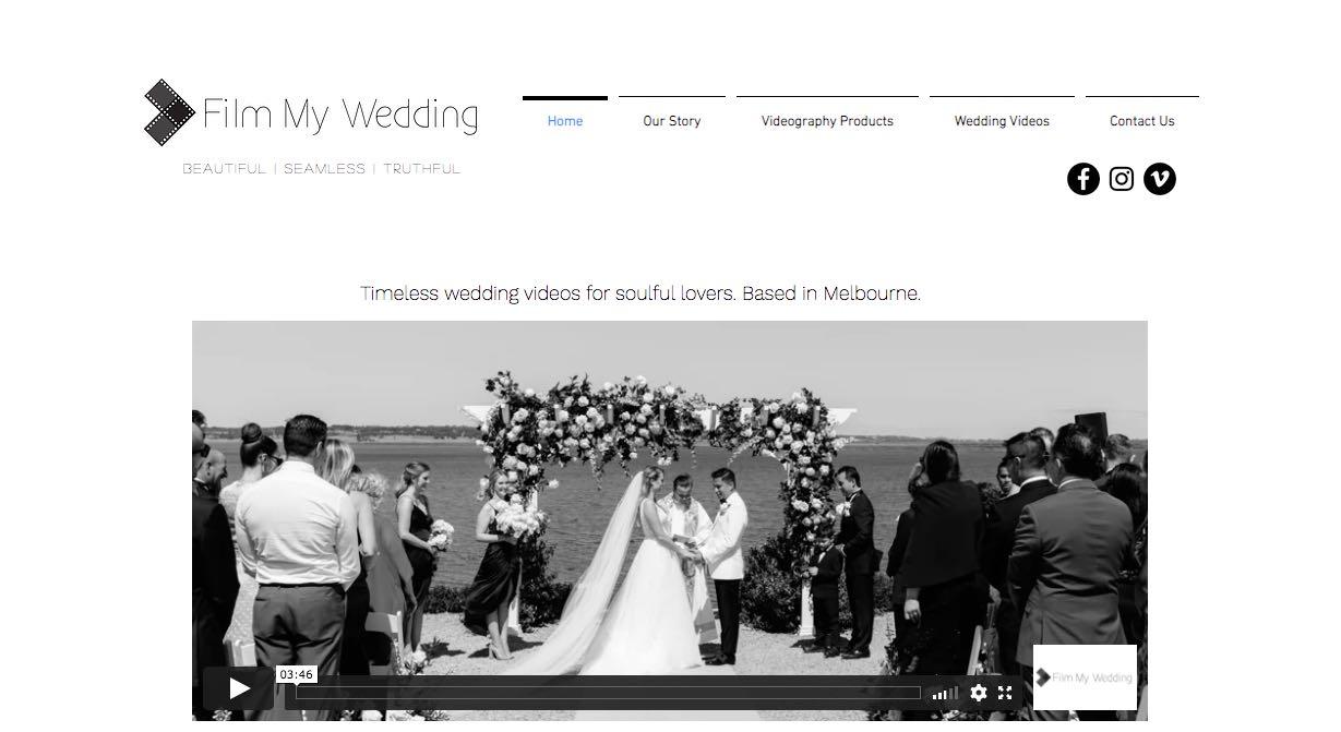 Film My Wedding Videographer Yarra Valley