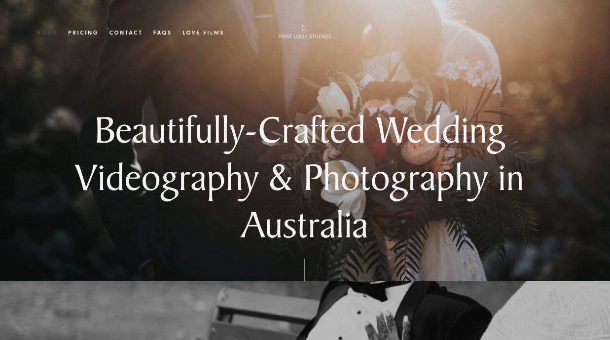First Look Studios Wedding Videographer Yarra Valley