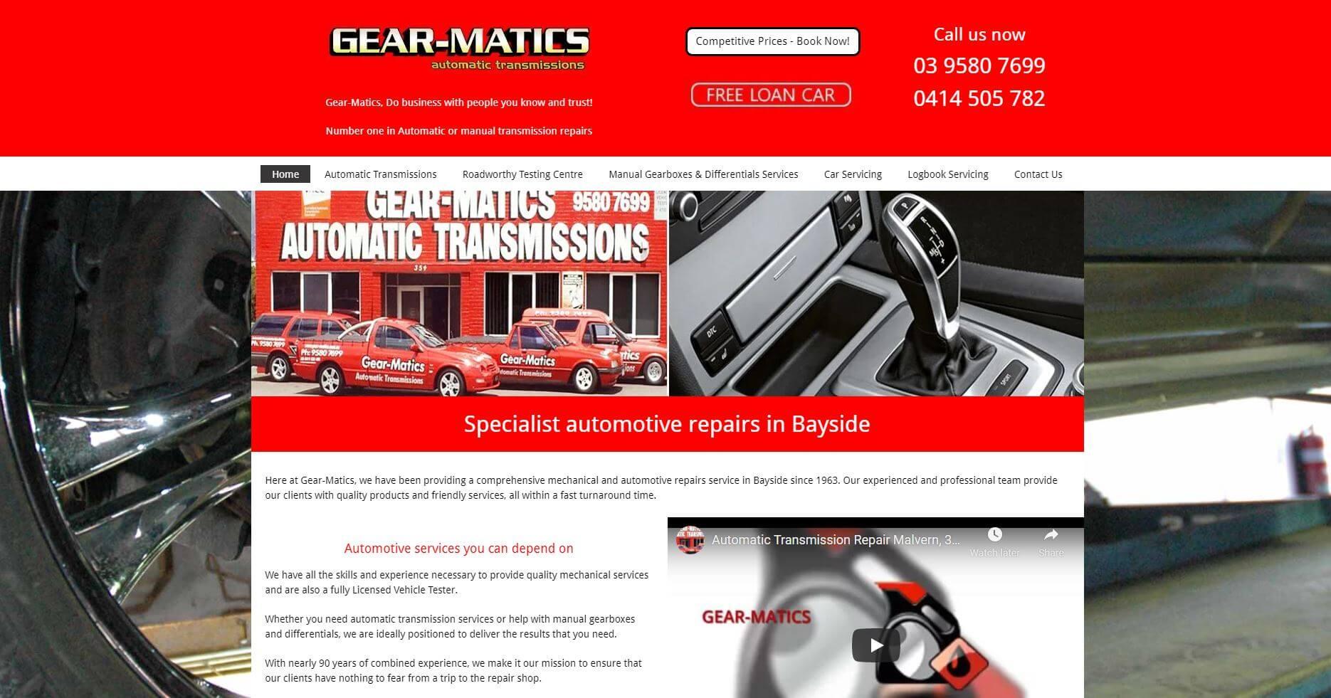 Gear Matics