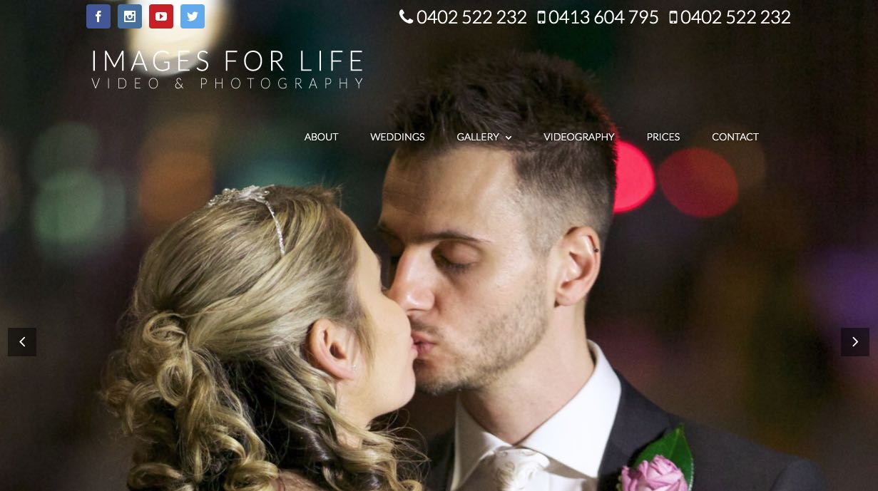 Images For Life Wedding Videographer Yarra Valley