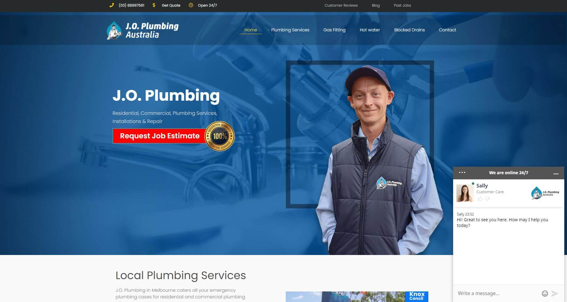 J.o. Plumbing
