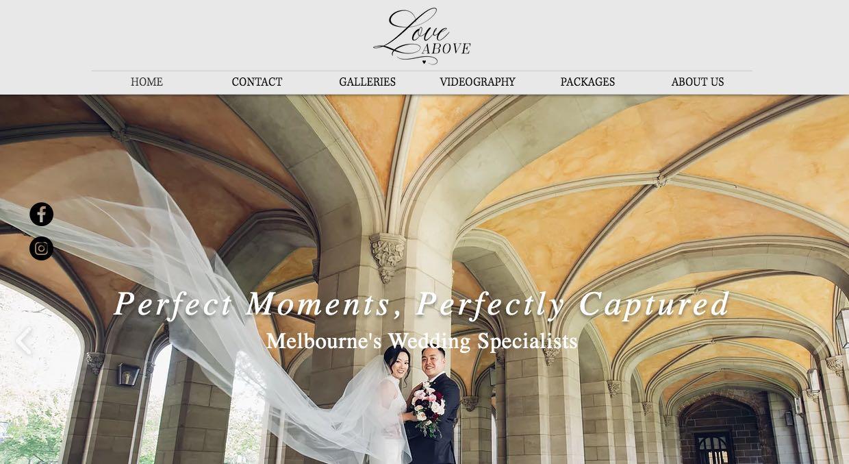 Love Above Wedding Videographer Yarra Valley