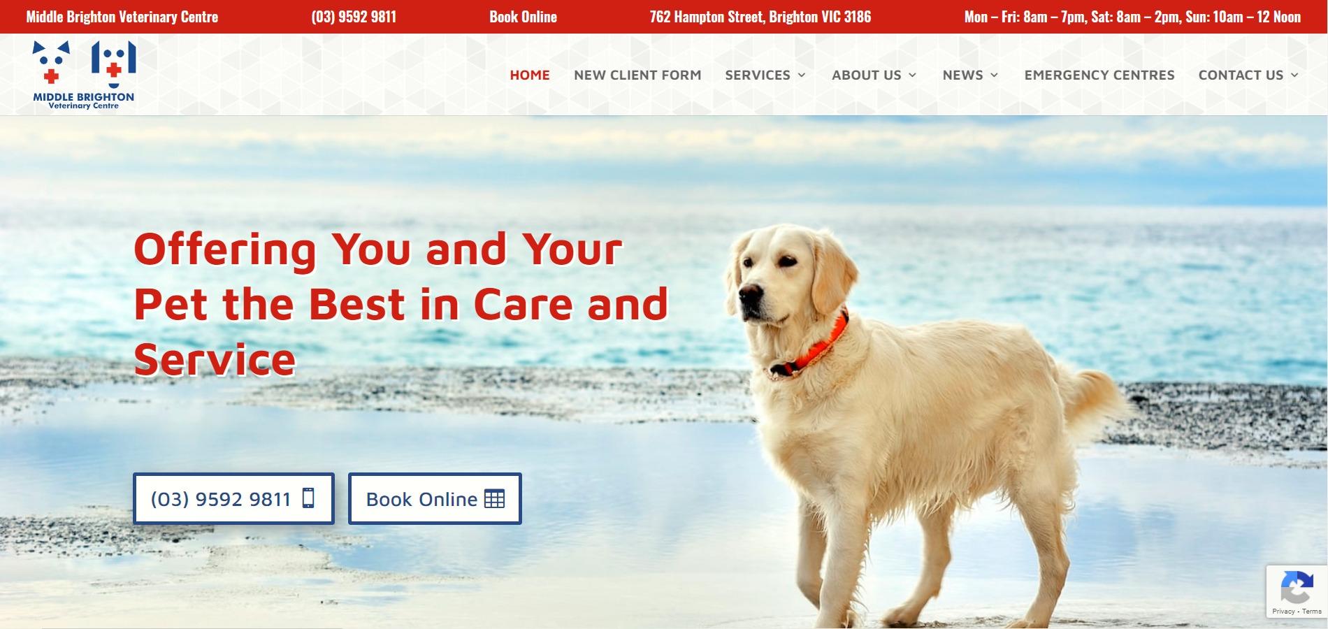 Middle Brighton Veterinary Centre