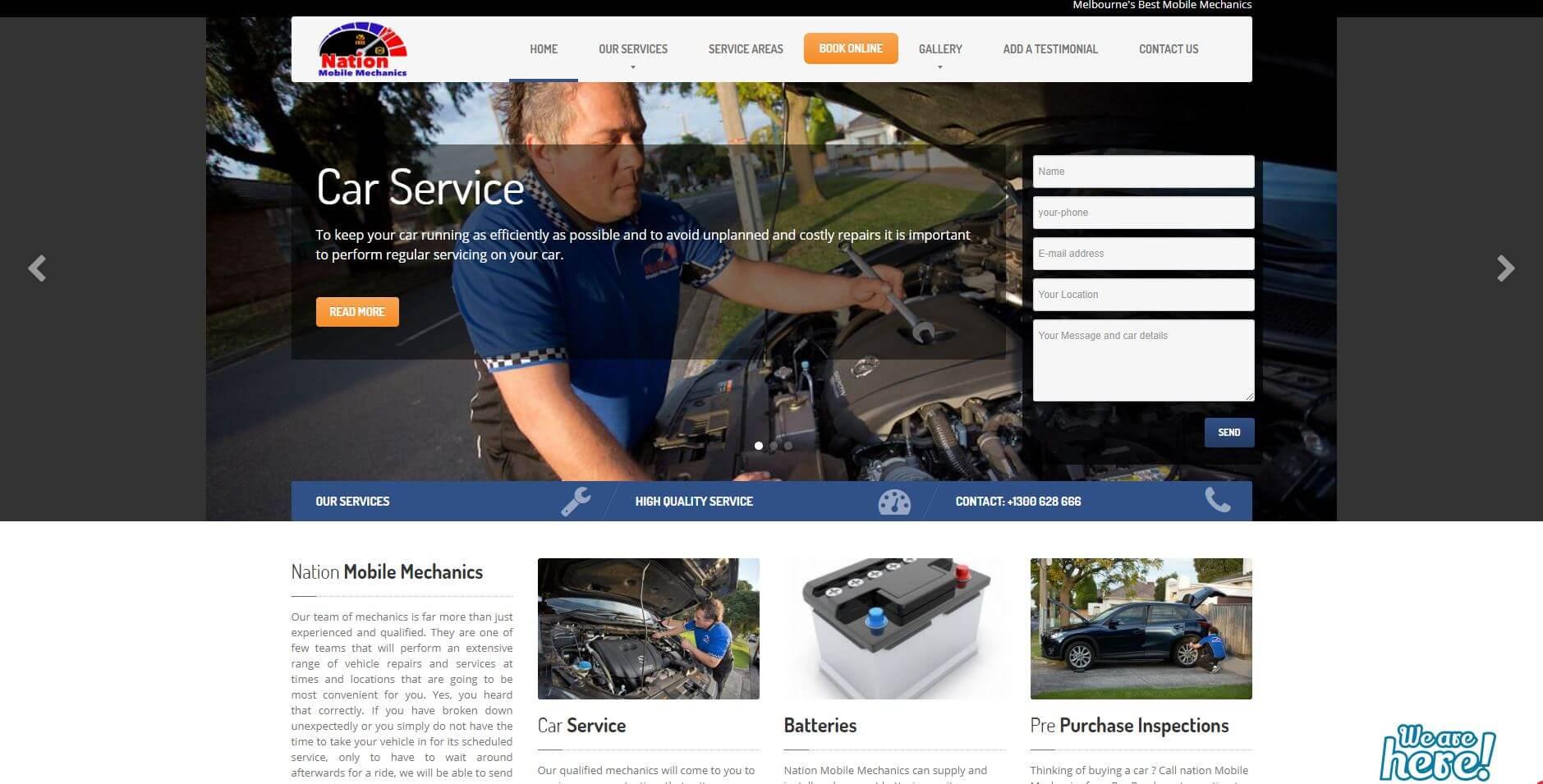Nation Mobile Mechanics