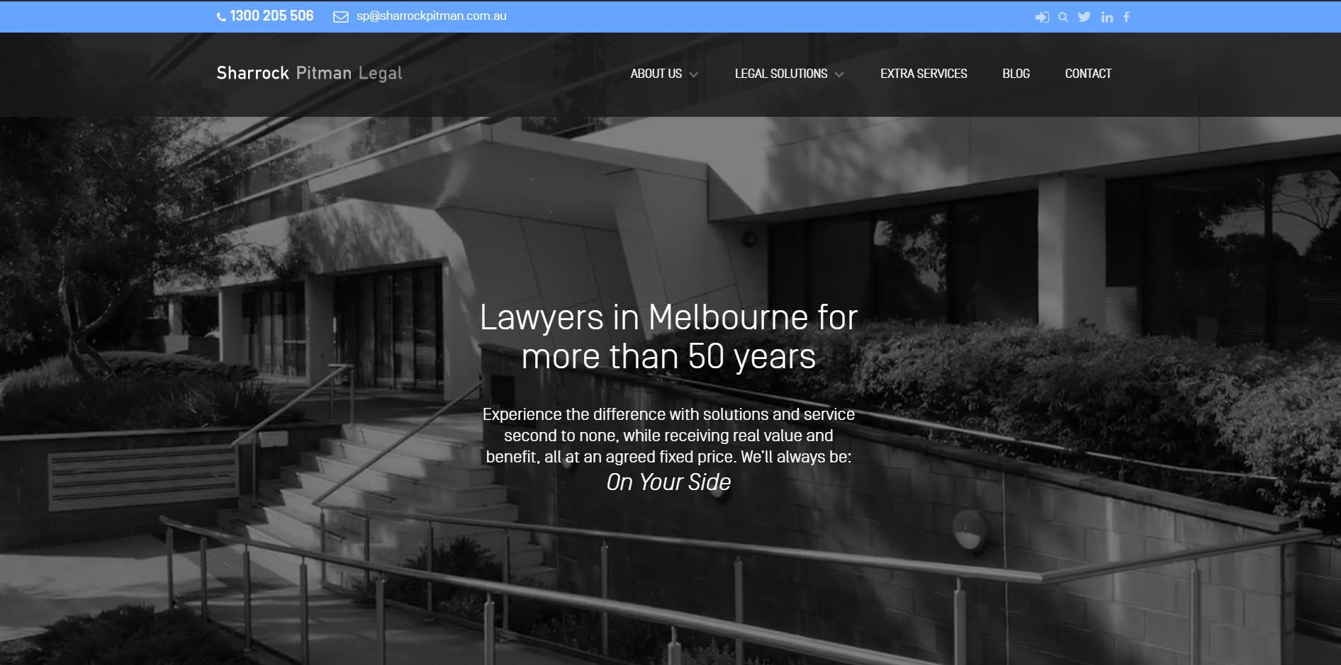 Sharrock Pitman Legal