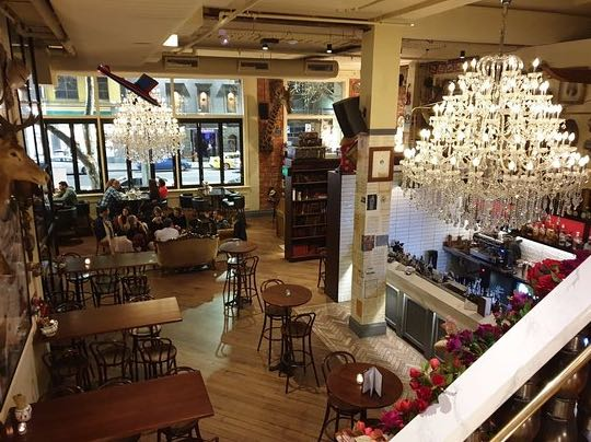 State Of Grace Christmas Lunch Idea Melbourne