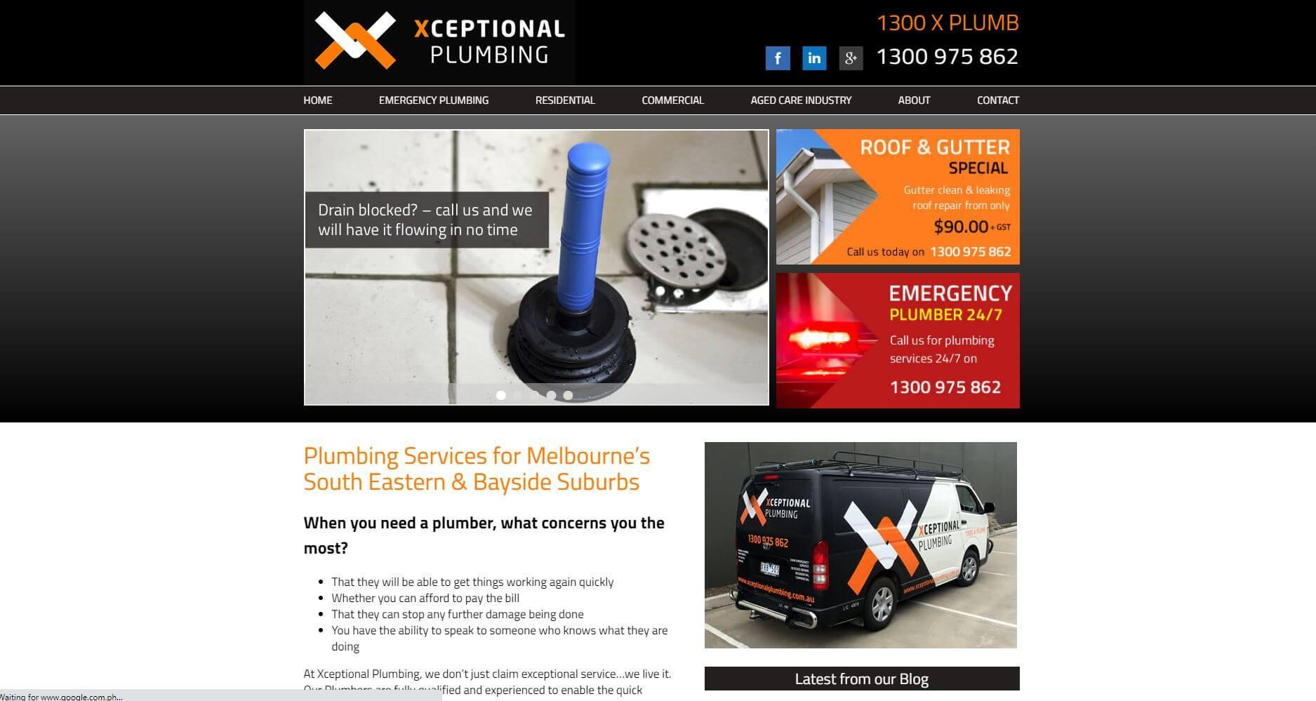 Xceptional Plumbing